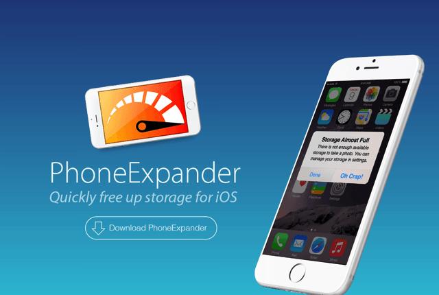 PhoneExpander 一鍵快速清理 iPhone、iPad 暫存檔,解決空間不足問題(Mac)