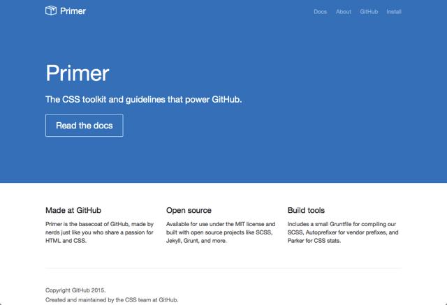 GitHub 將 CSS 設計框架開放原始碼,釋出 Primer 專案可免費下載!