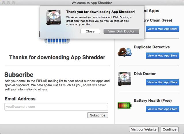 App Shredder