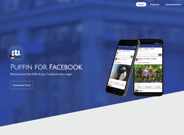 Puffin for Facebook 最佳化臉書使用體驗!更省電省錢的選擇