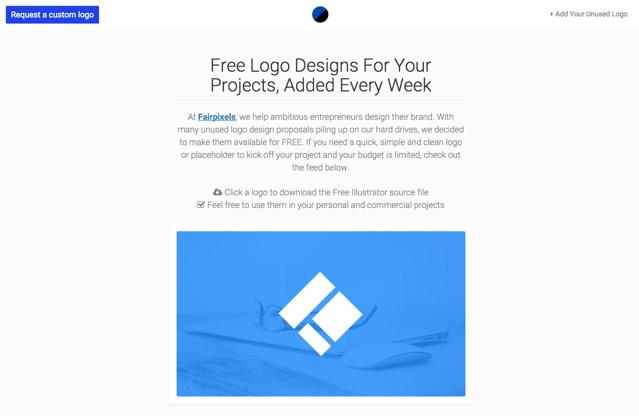 Logodust 每週提供免費 Logo 設計圖案下載,可用於商業專案