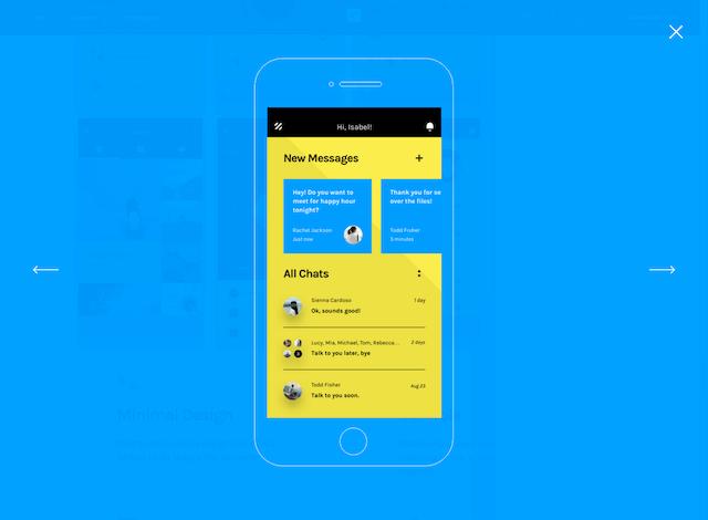 InVision 釋出「Chat」免費使用者介面 UI 設計包下載(Sketch & Photoshop)