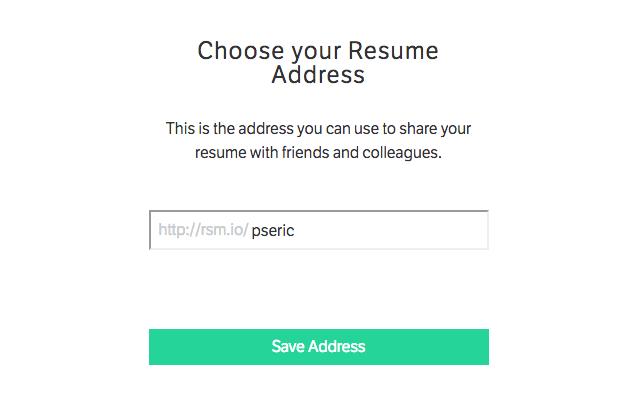 Standard Resume