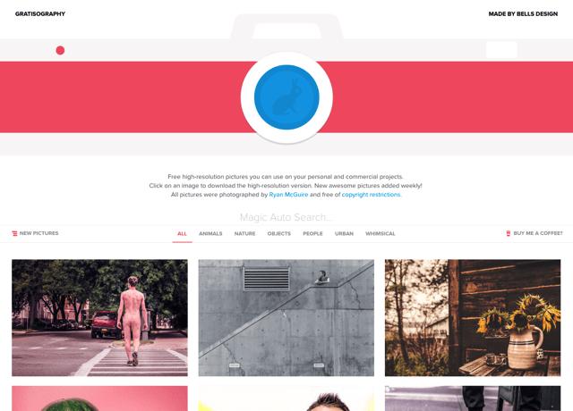 Gratisography 高畫質 CC0 免費圖庫推薦,各式主題相片線上預覽下載