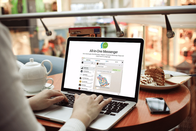 All-in-One Messenger 同時用 WhatsApp、Messenger 等27種即時通訊服務