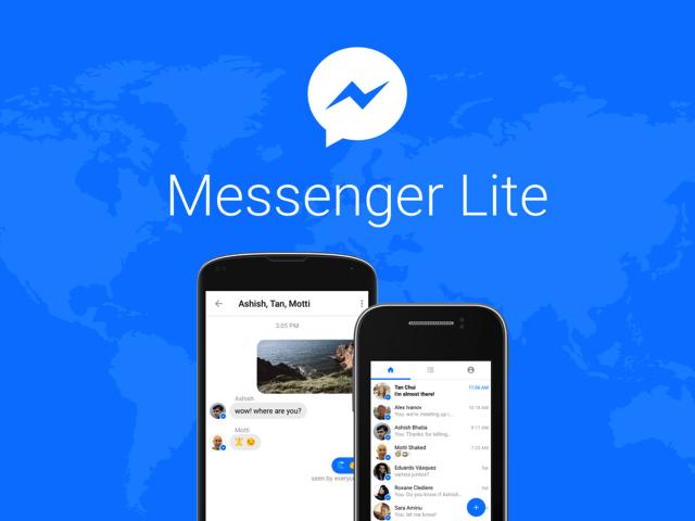 Messenger Lite 臉書推出聊天輕量版 App,介面精簡速度更快(Android) via @freegroup