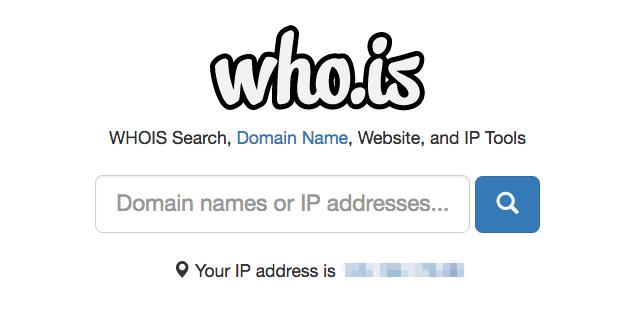 Who.is 查詢網域名稱、網址和 IP 註冊資訊,集合各種常用站長工具