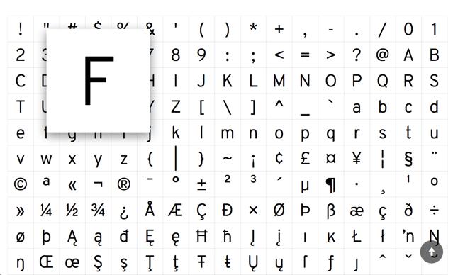 Overpass Font