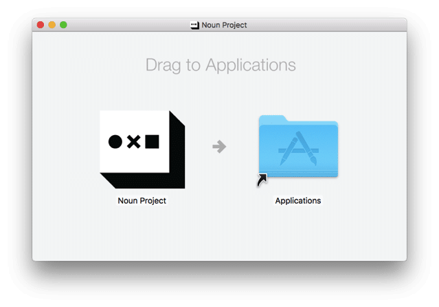 Noun Project for Mac