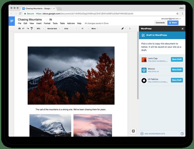 讓 Google Docs 成為你的 WordPress 文章編輯器!支援多人協作一鍵同步貼文 via @freegroup