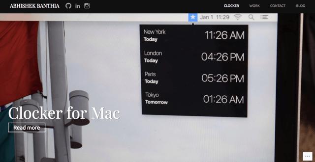 Clocker Mac