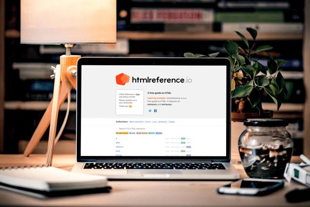 HTML Reference 網頁開發者必備手冊!收錄所有 HTML 元素及屬性說明