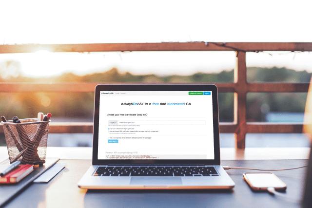AlwaysOnSSL 免費 SSL 憑證服務,自助驗證開啟 HTTPS 加密功能