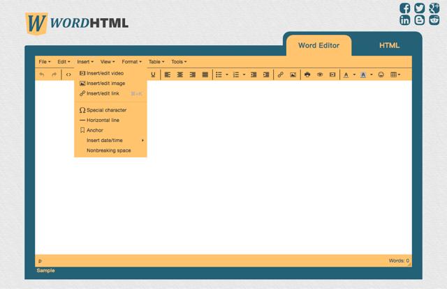 WordHTML