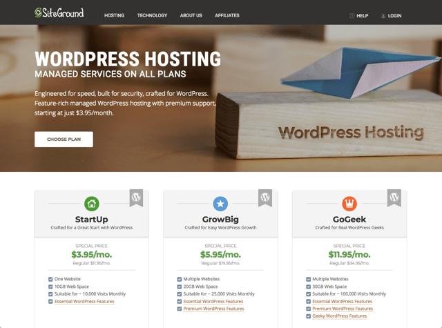 使用 SiteGround 虛擬主機一鍵快速安裝 WordPress 教學