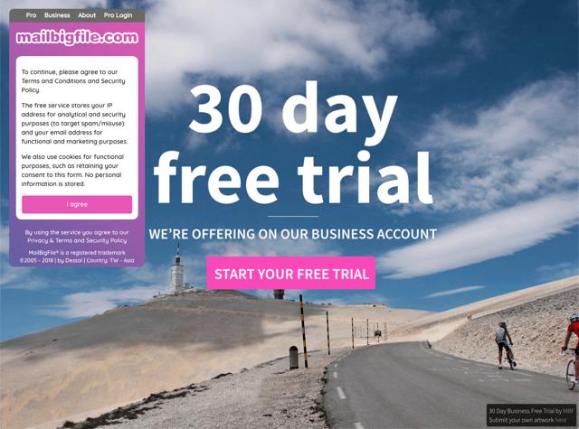 MailBigFile 免費檔案分享工具,透過 Email 分享 2 GB 檔案不受附件限制