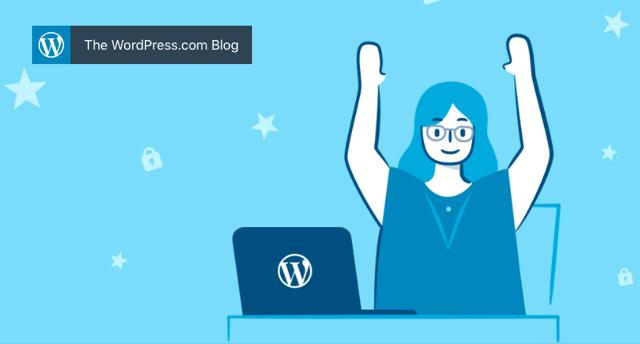 WordPress.com 提供免費 .blog 網域名稱,建立網誌也有簡短好記的網址