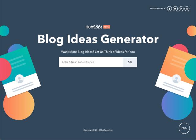 Blog Ideas Generator 想要更多靈感?輸入關鍵字產生文章標題和寫作方向