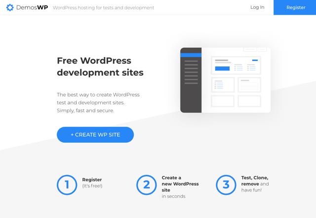DemosWP 免費 WordPress 開發測試網站,提供 MySQL、SFTP 和 SSL