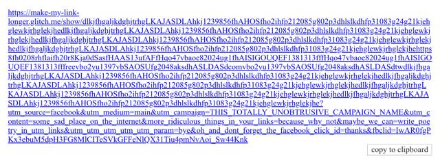 這是惡搞嗎?Make My Link Longer 讓網址變超長的「縮網址」服務