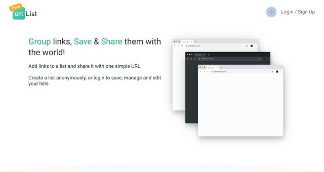 The Urlist 分享連結的好工具!貼上網址快速製作成列表頁面