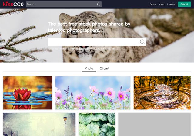 KissCC0 提供免費相片、插圖素材下載,採用 CC 授權部分可商用
