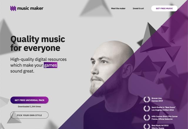 Music Maker 高品質原創音樂素材包,可使用於個人和商業用途