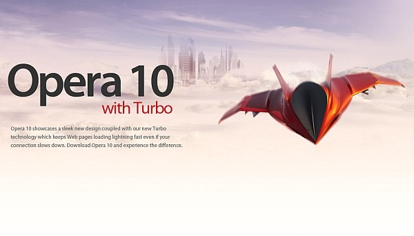 Opera 10 with Turbo