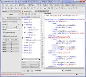 Open Source XML Editor - EditiX