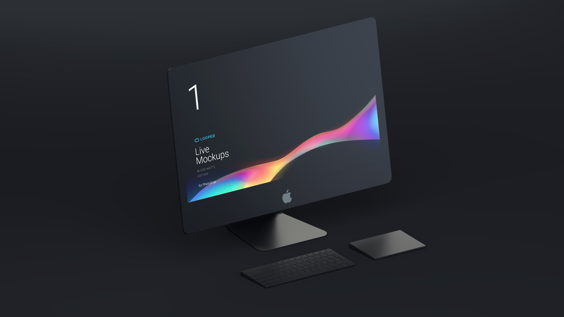 Free Black Matte Apple Devices Mockups For Personal And Commercial
