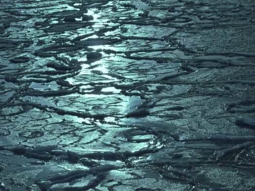 紋別の流氷
