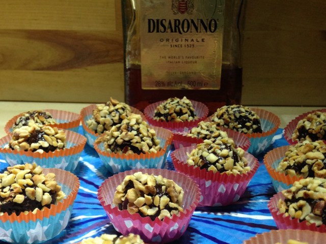 disaronno amaretto chocolate truffles