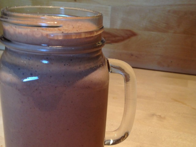 cosy spiced smoothie