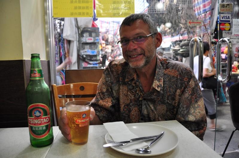 Tsingtao Beer Minute in Hong Kong.
