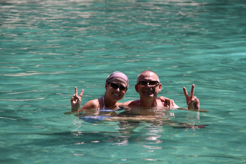Gord and Tammy Emerald Pool