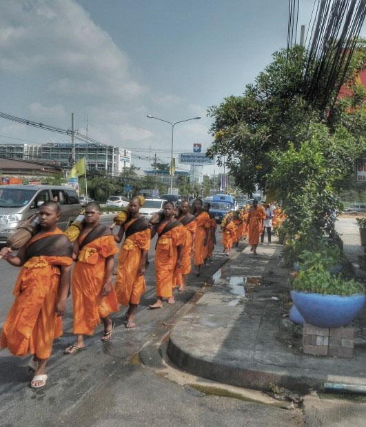 Hua Hin Monks Edited