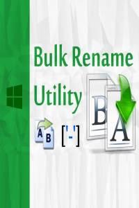Bulk Rename Utility Commercial Crack