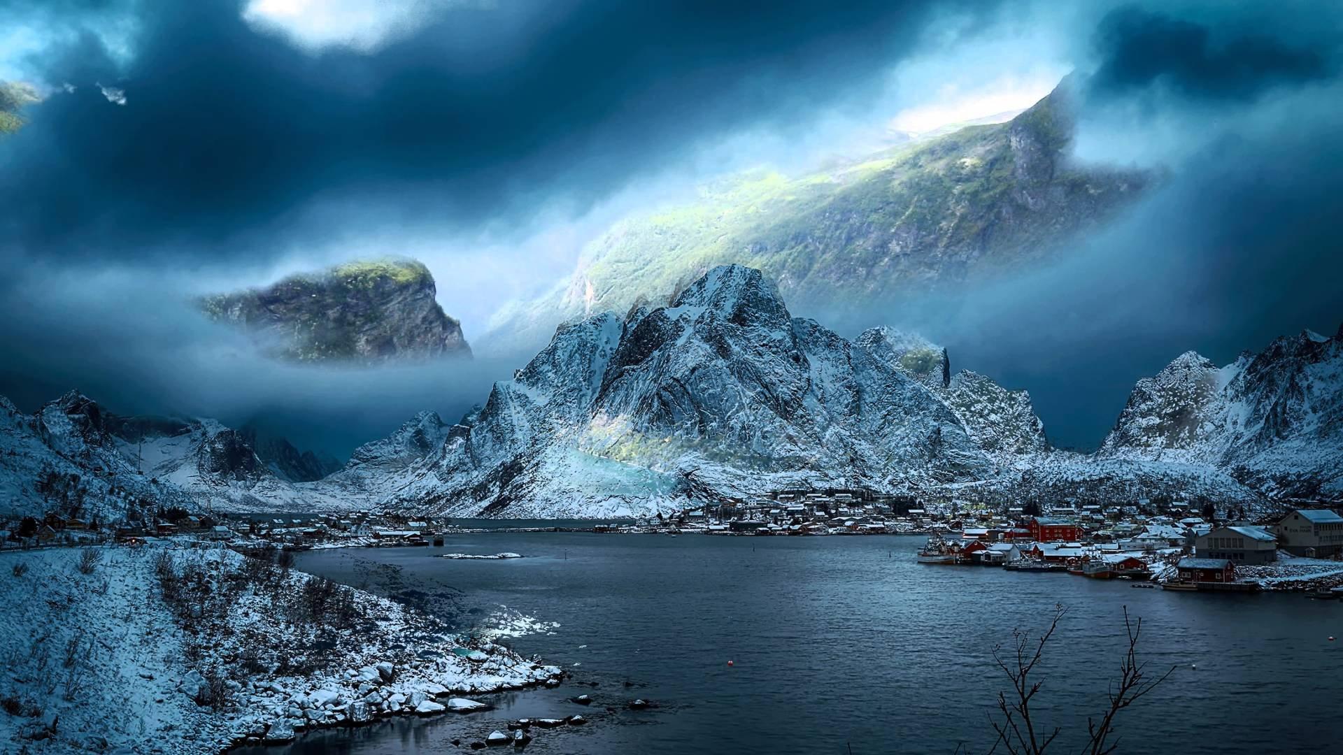 Fjords Bing Wallpaper