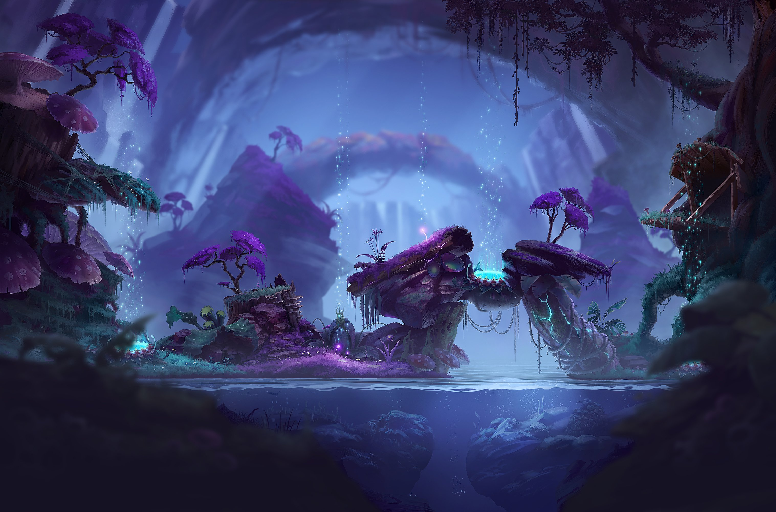Join now to share and explore tons of collections of awesome wallpapers. Inside A Magical Cave HD wallpaper