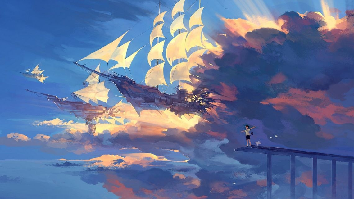 Anime Scenery 4k Wallpaper