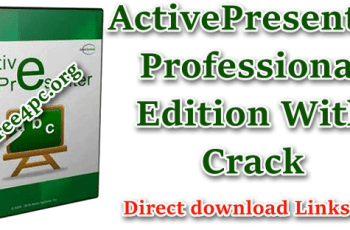ActivePresenter Professional Edition With Crack