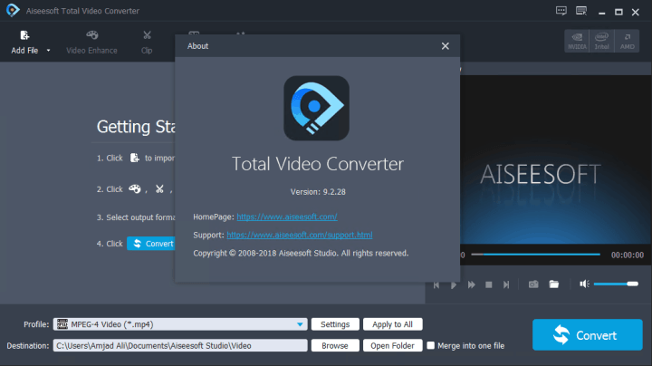 Aiseesoft Total Video Converter 9.2.28