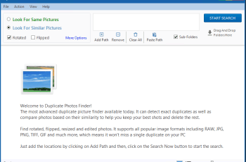 Ashisoft Duplicate Photo Finder Pro