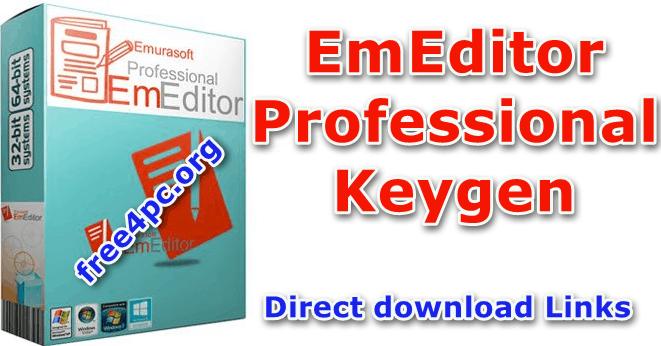 Emurasoft EmEditor Professional 19 1 0 With Keygen [x86/x64]