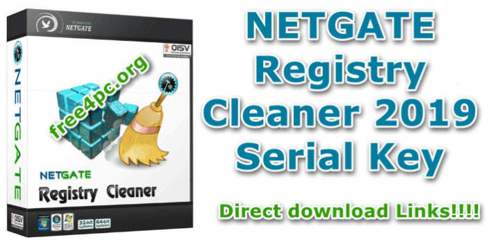 NETGATE Registry Cleaner 2019 Serial Key