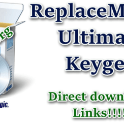 ReplaceMagic.Ultimate Keygen