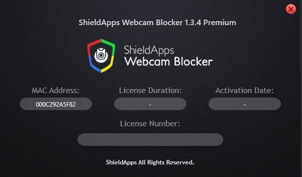 ShieldApps Webcam Blocker Premium 1.3.4 crack