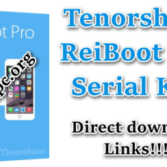 Tenorshare ReiBoot Pro Serial Key