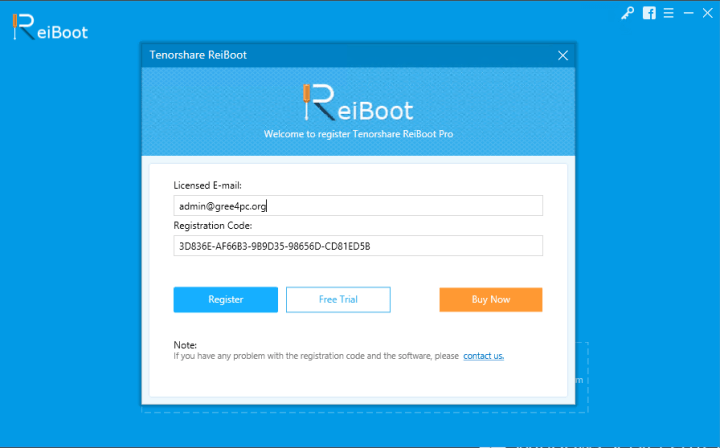 Tenorshare ReiBoot Pro 7.2.8 With Serial Key