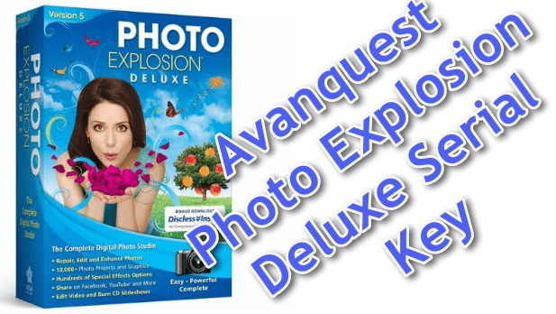Avanquest Photo Explosion Deluxe Serial Key